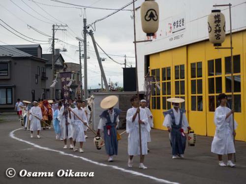 姥神大神宮渡御祭 2012 下町巡幸 神社行列