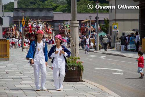 姥神大神宮渡御祭 2012 上町巡幸 いにしえ街道