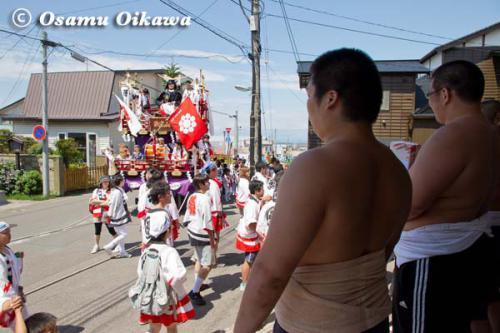 姥神大神宮渡御祭 2012 上町巡幸 相撲部屋