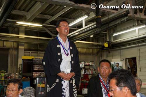 姥神大神宮渡御祭 2012 上町巡幸 蛭子山 直会