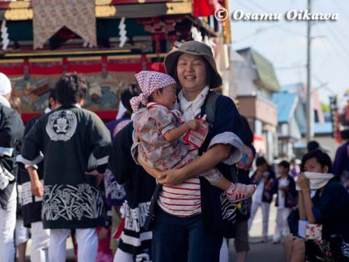姥神大神宮渡御祭 2012 上町巡幸 祭り人