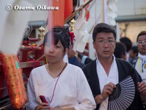 姥神大神宮渡御祭 2012 上町巡幸 蛭子山