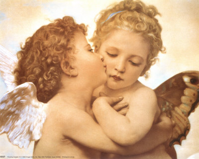 8337~Kissing-Angels-Posters