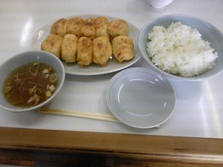 ホワイト焼き餃子