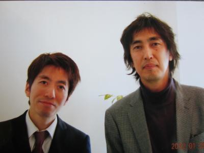 浅野先生と2ショット