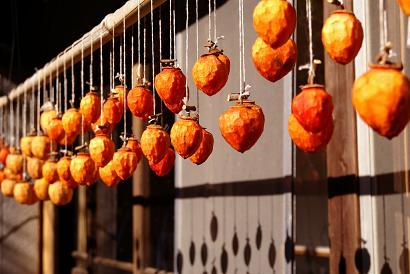 秋 干し柿