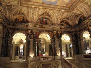 美術史博物館の階段