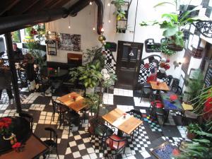 クンストハウスの中のカフェ