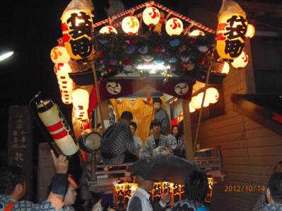 H.24.10.14佐倉の秋祭り