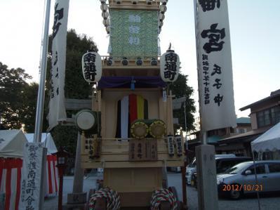H.24.10.21川越祭り4