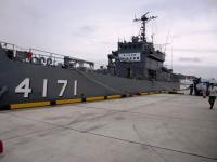 2012.9.1 防災訓練 輸送艦