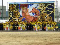 2012.9.6 新居浜西高校運動会の黄色