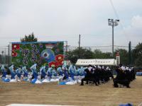 2012.9.6 新居浜西高校運動会の青色