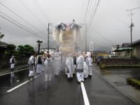 2012.10.17 雨の東田太鼓台