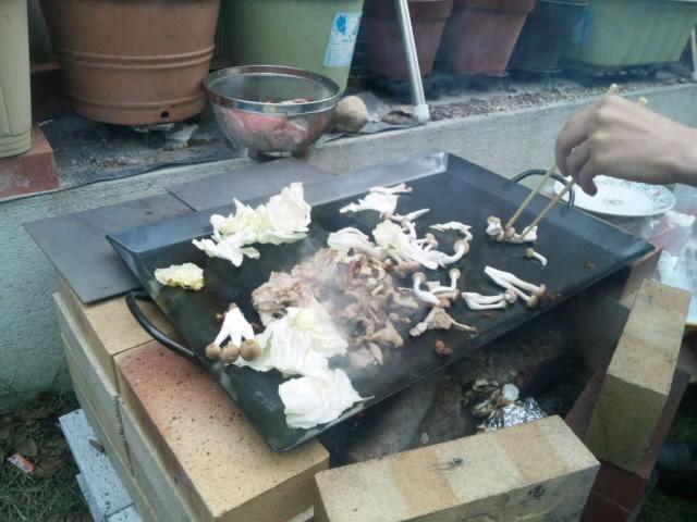 焼肉【焼き芋】