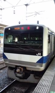 土浦発の『おさんぽ川越号』はE531使用!