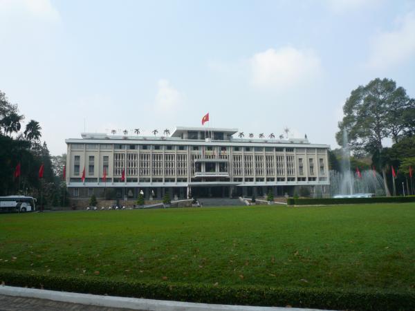 旧南ベトナム大統領官邸「統一会堂」
