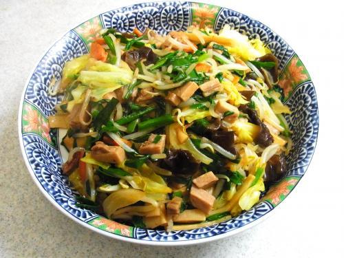 140118-221野菜とメンマの炒め(S)