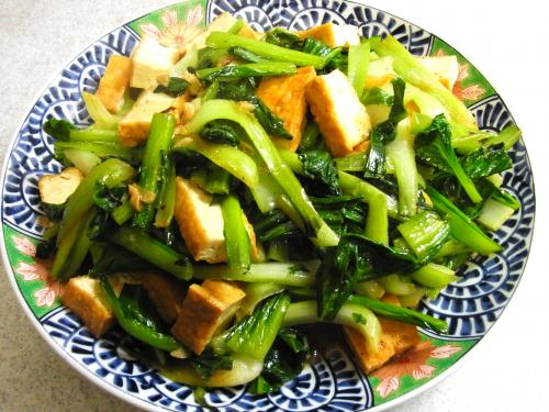 140125-221青菜と厚揚げの炒め(S)