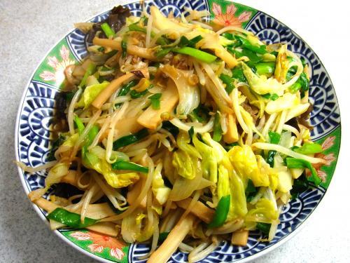 140211-231野菜とメンマの炒め(S)