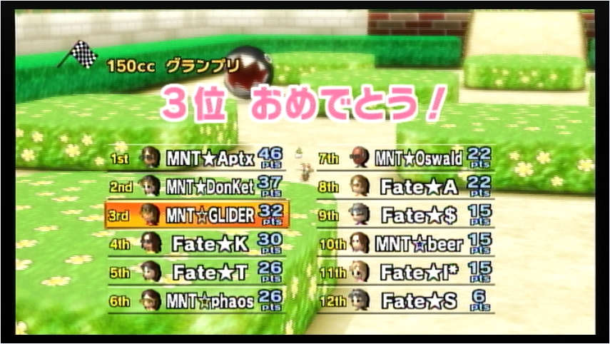 MNT vs Fate 1GP