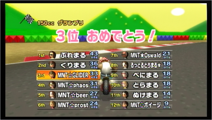 MNT vs まる (2) 1GP