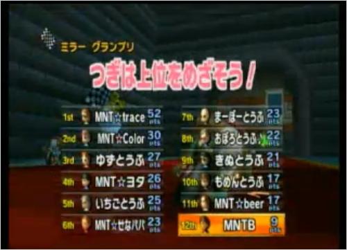MNT vs とうふ 2GP