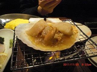 ホタテ焼き1