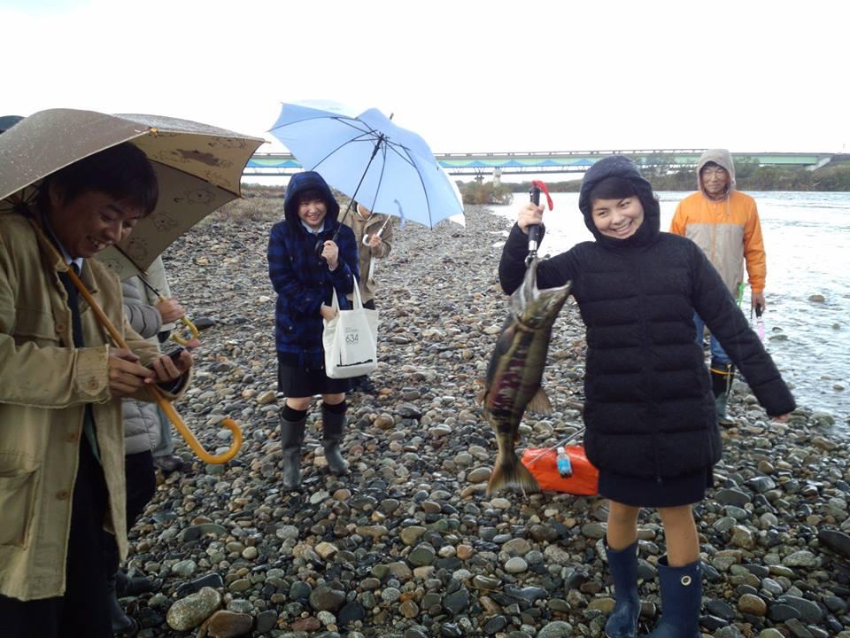 2014荒川鮭釣り 新潟村上