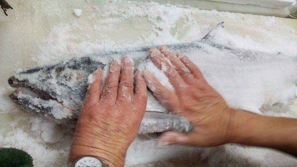 塩引き鮭 新潟村上 つくり方