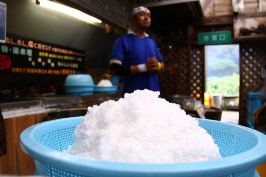 新潟県最北端 塩工房 白いダイヤ ミネラル工房