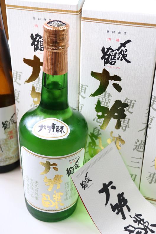 日本酒 〆張鶴 大吟醸
