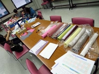 朝日カルチャーセンター ポジャギ教室