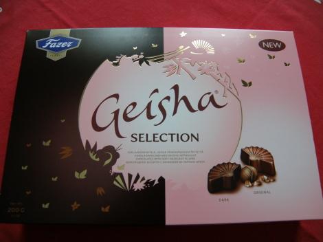 Fazer Geisha suklaa