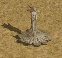 石化した魔女