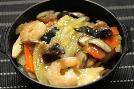中華丼弁当1