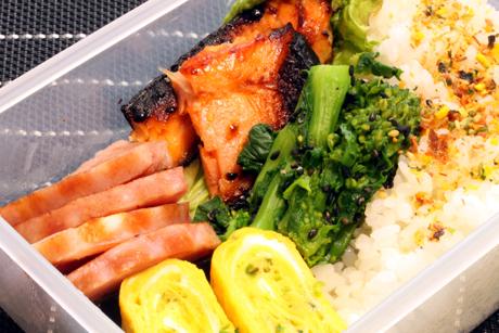 塩麹鮭弁当