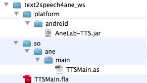 ネイティブ拡張 for Adobe AIR for Android テキスト読み上げ 007