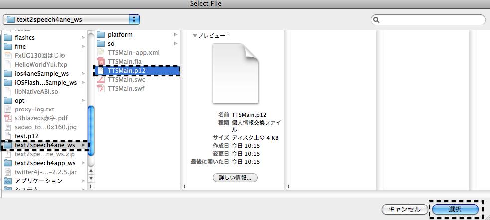 ネイティブ拡張 for Adobe AIR for Android テキスト読み上げ 032 ANEtty