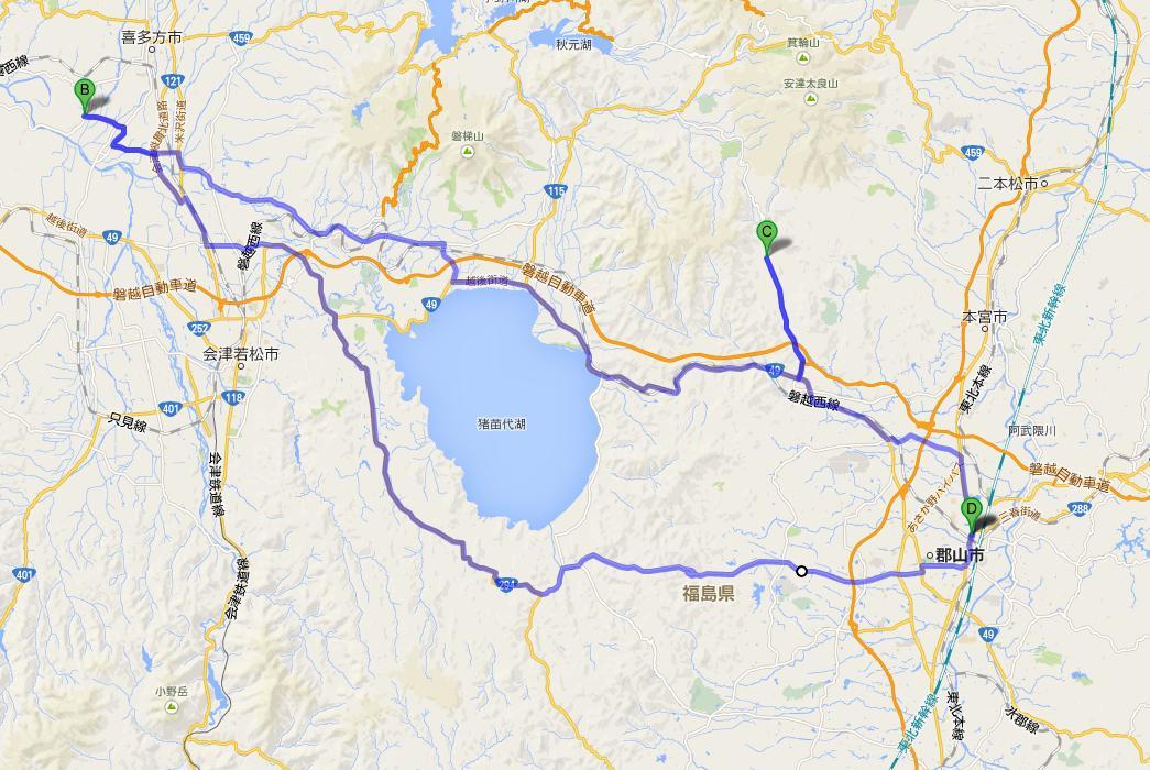 長床神社⇒カフェザザ地図