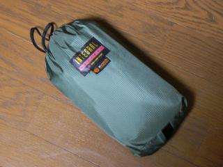 Integral Designs eVent Overbag 収納状態