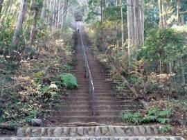 Steps to Atago-yama