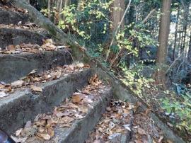 Steps to Atago-yama 2