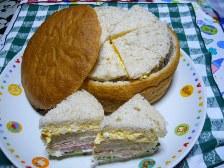 ライ麦バスケット サンドイッチ