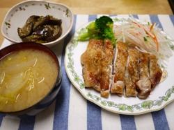 鶏の塩焼き2014-2-2