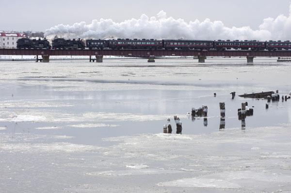 2012.2.1 釧路~東釧路 湿原号逆重連