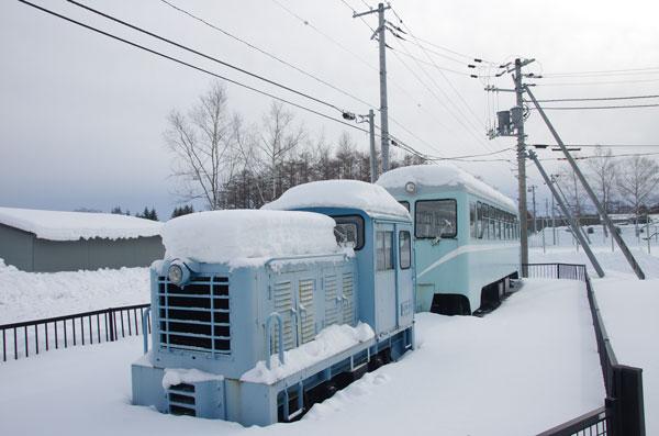 2012.2.1 鶴居村営軌道 保存車両