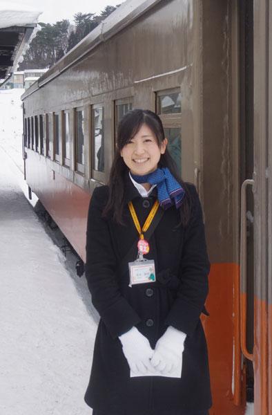 2011.2.11 津軽中里 アテンダント
