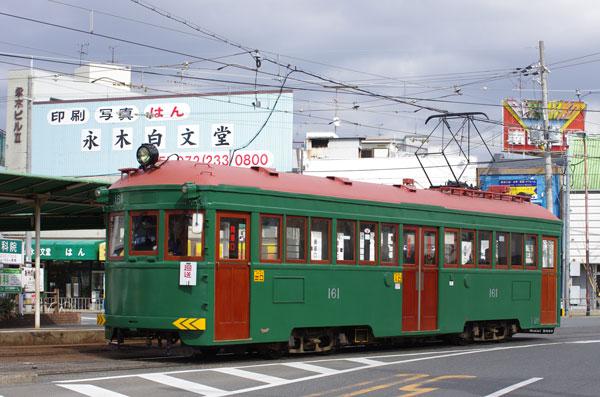 2012.2.18 阪堺  綾ノ町 161号