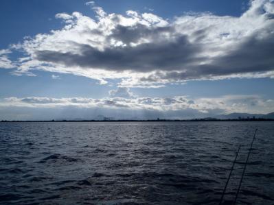 ①ビミョ~な雲